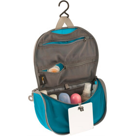 Sea to Summit Travelling Light Hanging Toiletry Bag Small Blue/Grey